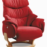 Relaxation armchair 5372 leather