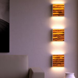 Wooden Wall Lamp Level