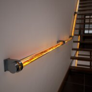 Wooden Reed - illuminated handrail
