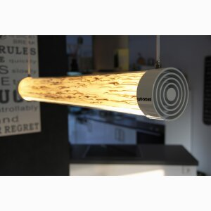 Wooden Tube Designer Lamp