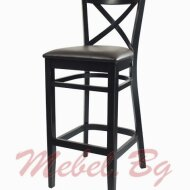 Barstool, massive wood chair 1302 B
