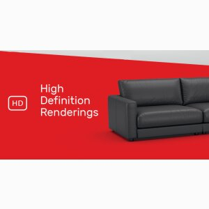 HD furniture renderings