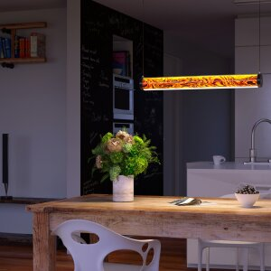German design: LED lighting made from real wood