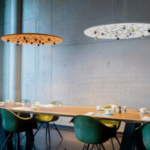 Acoustic lighting – a sales hit that creates a quieter environment with optimal lighting