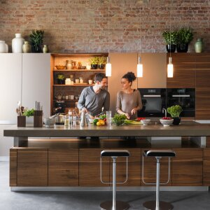 Custom-made ergonomic kitchen planning