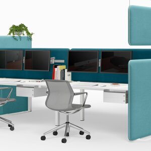 Acoustic solutions for a quieter office