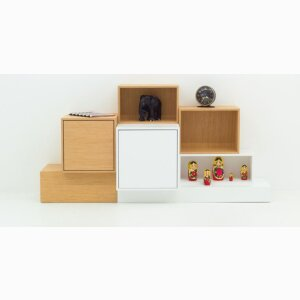Modular sideboards with bases