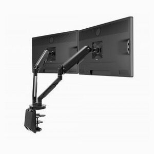 Monitor arm with gas