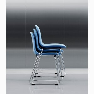 Form stacking chair & barstool