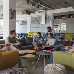 Multi-space is becoming the dominant office form