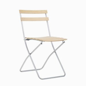 ROBINIA SPRING - Outdoor folding chair in wood