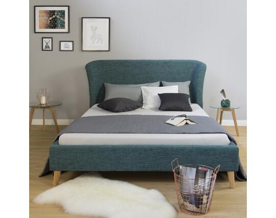 Upholstered Bed Double Frame 140 X