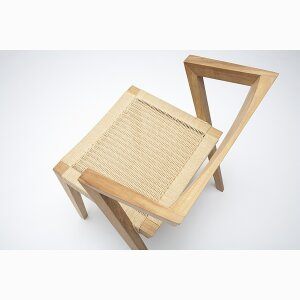 Urban loom chair by Jakob Berg (DK)