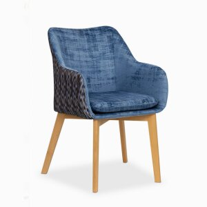 Chair diamond blue / DV1058