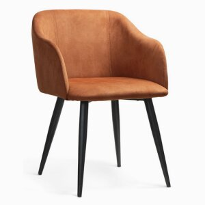 DANEZ brick chair / foot black / MA CEG