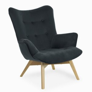 ANGEL dark gray chair