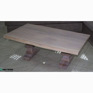 Coffee table oak wood