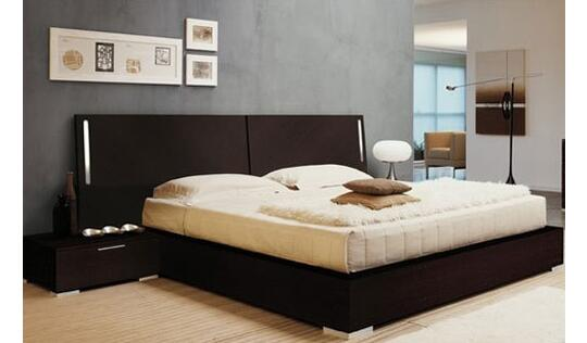 Teak Wooden Double Bed By Modern Timber Industries Double Beds