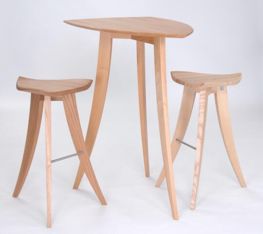 Awe Inspiring High Cahair And Table Edition 2 By Odd Brothers Design Gbr Lamtechconsult Wood Chair Design Ideas Lamtechconsultcom