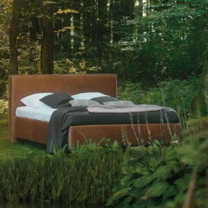 Birkenstock at imm cologne 2019: A bed in the forest