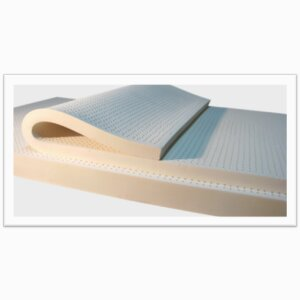 Organic Mono Zone latex foam block & Topper