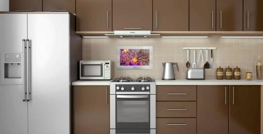 Kitchen Tv By Mues Tec Gmbh Co Kg Smart Home