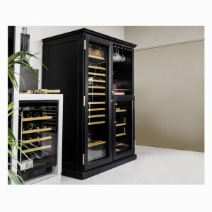 Elite, a range of wooden furniture for wine cabinets