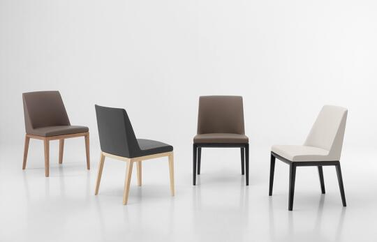 best sneakers 4da53 60b75 Deva chair and armchair by Rossetto F.lli S.A.S. | Semi ...