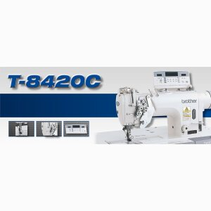 T-8420C  Twin needle lock stitcher