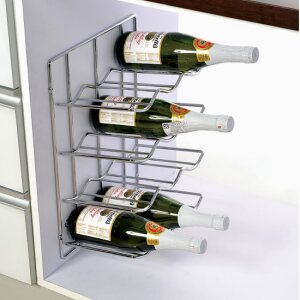 ON-WALL BOTTLE RACK