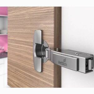 Fast assembly hinges Sensys with integrated Silent System