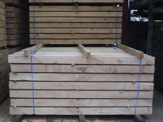 Oak products for landscaping by LBSA   Solid wood boards   ambista