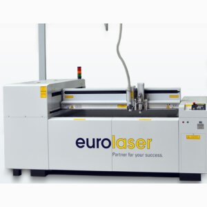Laser Cutting Machine M-1200 - cut by cut in highest precision!