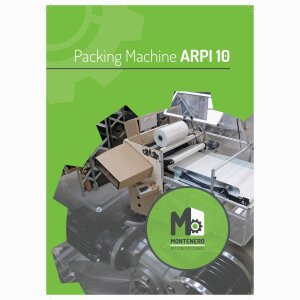 ARPI-10    Roll-packing machine for pillows.