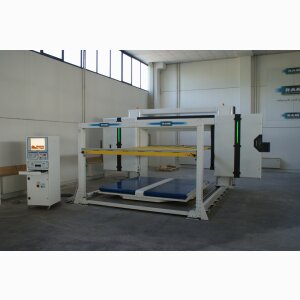 SLC EV - Horizontal FAST continuous blade contour cutting machine