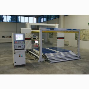 SPL EV - Horizontal FAST oscillating blade contour cutting machine