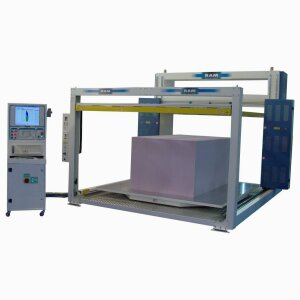 SPL SF - Horizontal oscillating blade contour cutting machine