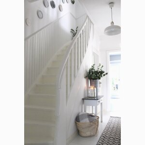 Wall covering stairs