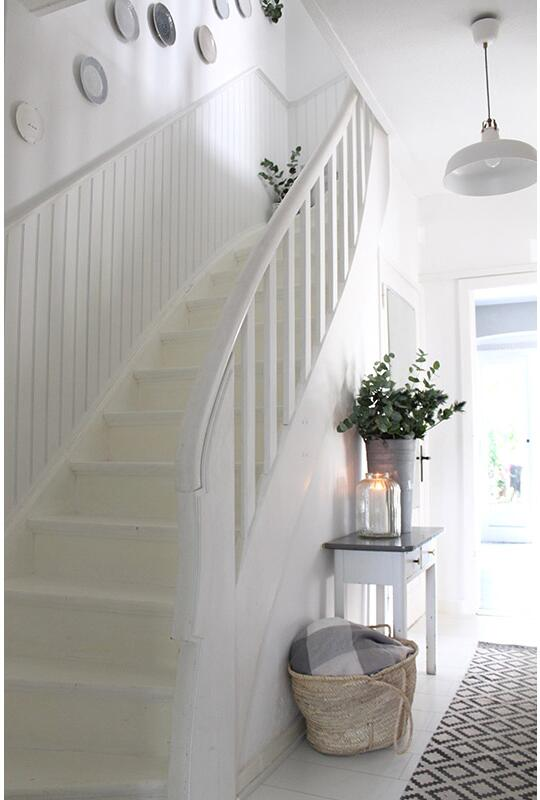 Wall Covering Stairs By Beadboard De