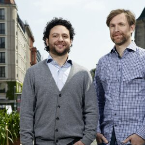 Company founders Alessandro Quaranta and Nikolas Feth