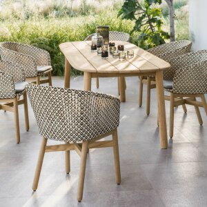 "Chic for interiors and outdoor oases: ""Mbrace"""