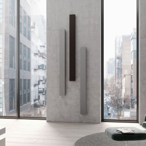 ": The ""Decor-Arte"" collection by Kermi: with the horizontal version, the radiator becomes a design element."