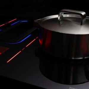 Intelligent cooktops and innovative functions for a new cooking experience.
