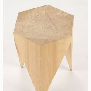 CROWN DOWN STOOL – fir wood