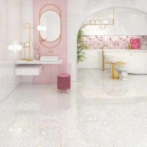 HANAMI 23X33,5 - wall tiles white body ceramic heritage effect
