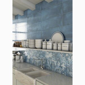 LATERZA 25X75 - wall tiles white body ceramic heritage effect