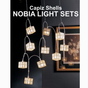 Capiz Shells Nobia Light Sets