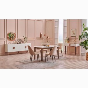 Levana Ext. Dining Table(150*95 cm)