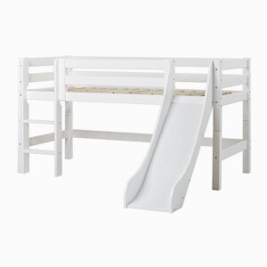 PREMIUM Halfhigh bed with slide and ladder