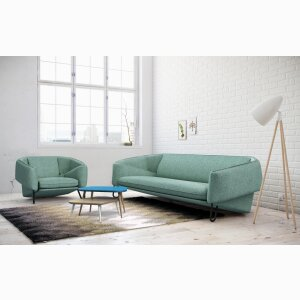 Flow sofa and armchair